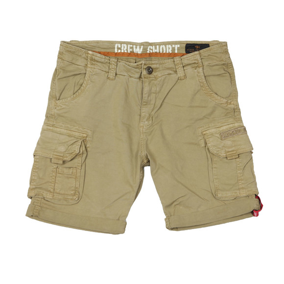 Alpha Industries Mens Beige Crew Cargo Short main image