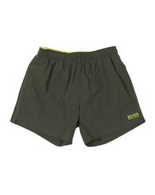 BOSS Bodywear Mens Green Perch Swim Shorts