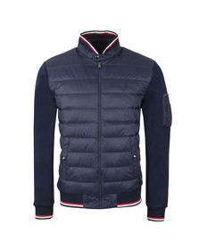 Polo Ralph Lauren Mens Blue Active Fit Hybrid Down Jacket