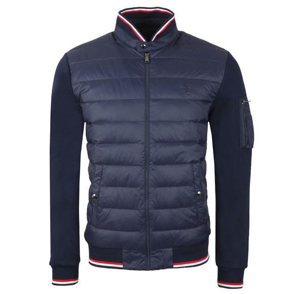 Polo Ralph Lauren Mens Blue Active Fit Hybrid Down Jacket main image