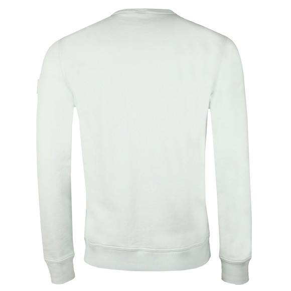 BOSS Mens Green Casual Walkup Sweatshirt main image