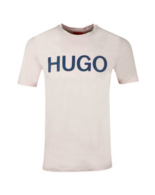 HUGO Mens Pink Dolive T Shirt