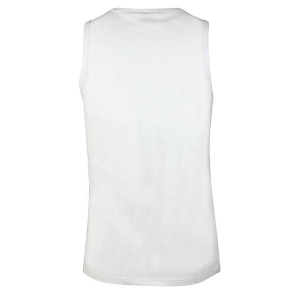 BOSS Bodywear Mens White Logo Vest main image
