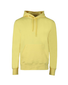 J.Lindeberg Mens Yellow Hurl Hood Ring Loop Hoody