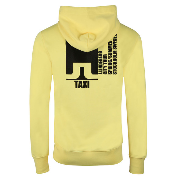 J.Lindeberg Mens Yellow Hurl Hood Ring Loop Hoody main image