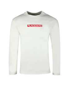J.Lindeberg Mens Off-White Ade Fine Sweat