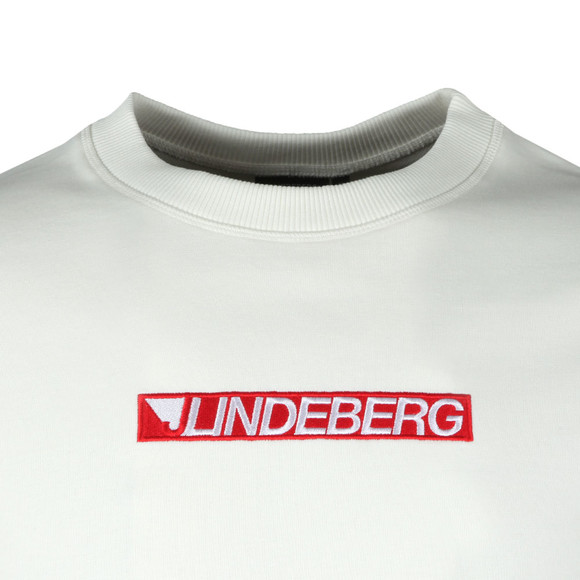 J.Lindeberg Mens Off-White Ade Fine Sweat main image