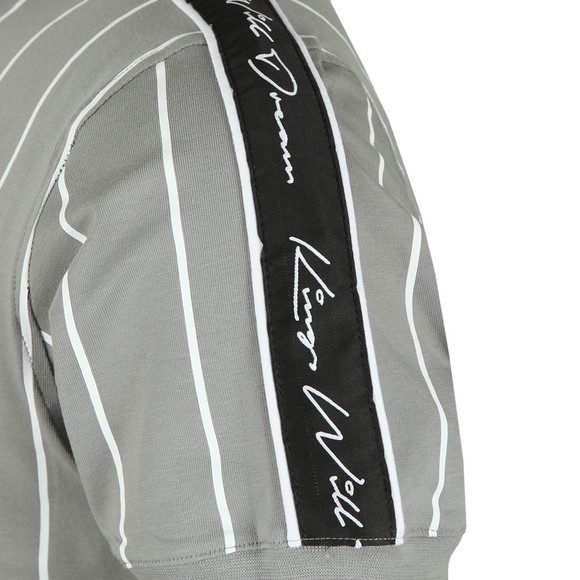Kings Will Dream Mens Grey Rifton Pinstripe Tee main image
