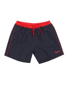 BOSS Bodywear Mens Blue Starfish Swim Short