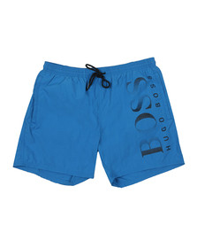 BOSS Bodywear Mens Blue Octopus Swim Short