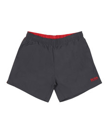 BOSS Bodywear Mens Grey Perch Swim Shorts