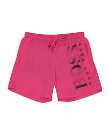BOSS Bodywear Mens Pink Octopus Swim Short