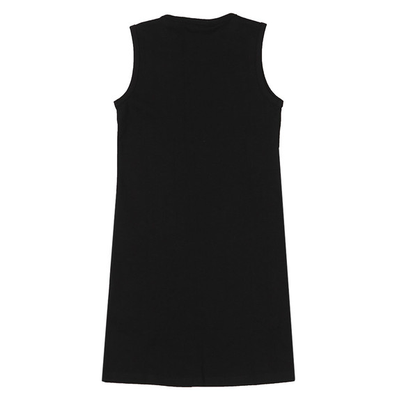 Guess Girls Black Double Triangle Logo Dress