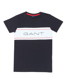 Gant Boys Blue TB Icon T Shirt