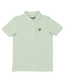 Lyle And Scott Junior Boys Green Classic Marl Polo Shirt