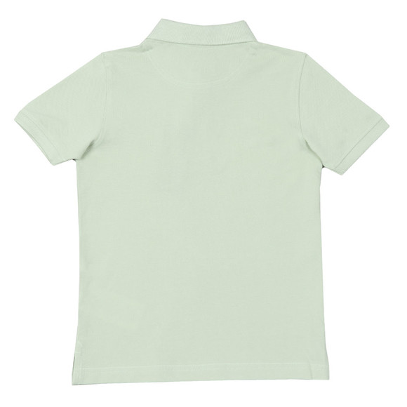 Lyle And Scott Junior Boys Green Classic Marl Polo Shirt main image
