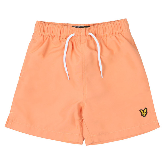 Lyle And Scott Junior Boys Orange Classic Swim Short