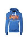 Superdry Mens Blue Premium Goods Duo Hood