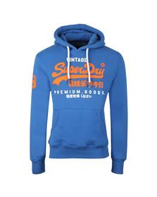 Superdry Mens Blue Premium Goods Duo Hood