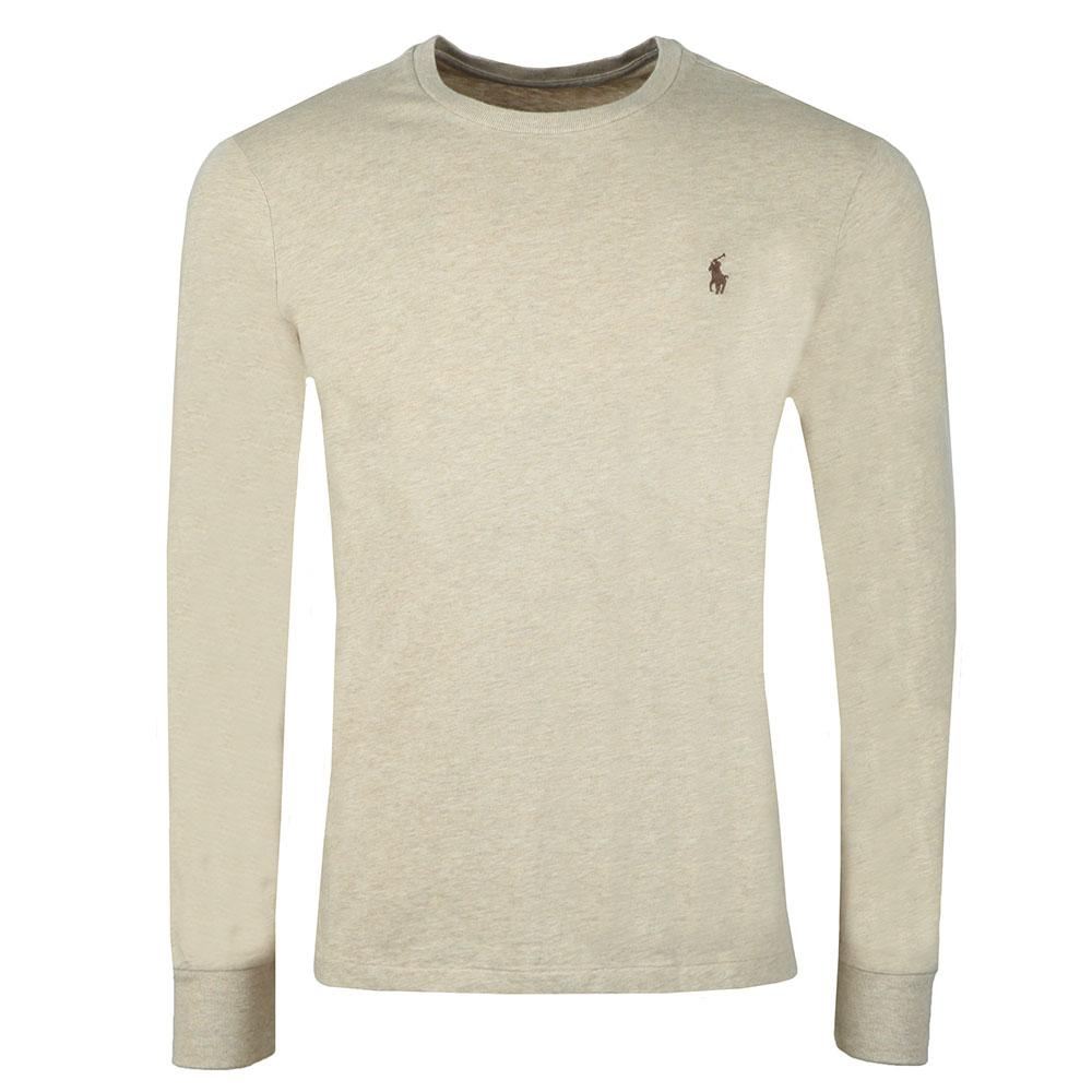 7967c18df302 Polo Ralph Lauren Custom Slim Fit Long Sleeve T Shirt