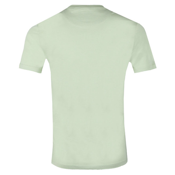 Lyle and Scott Mens Green Basic Tee main image