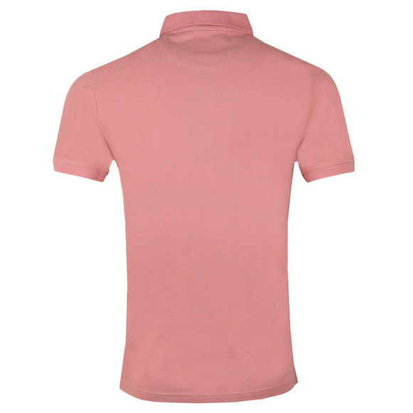 Lyle and Scott Mens Pink Plain Polo main image