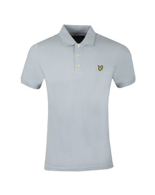 Lyle and Scott Mens Blue Plain Polo