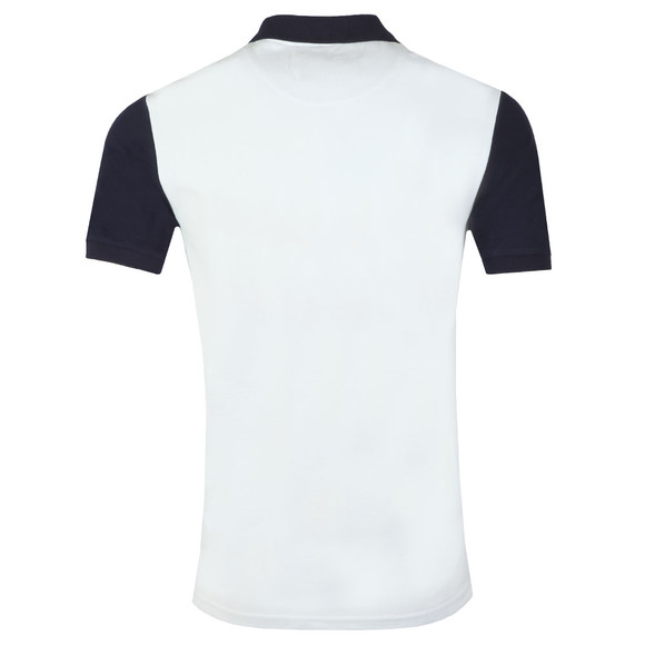 Lyle and Scott Mens White Ringer Polo Shirt main image