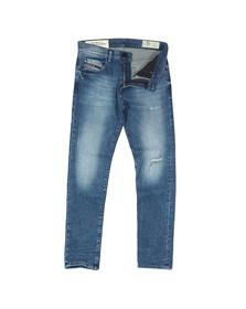Diesel Mens Blue D-Strukt Tapered Jean