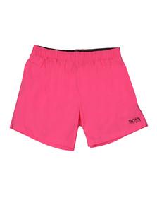 BOSS Bodywear Mens Pink Perch Swim Shorts