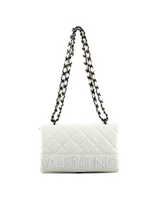 Valentino by Mario Womens White Licia Satchel