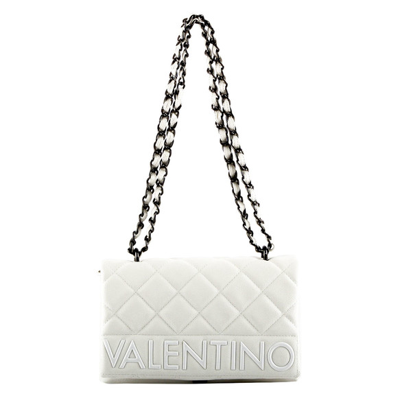 Valentino by Mario Womens White Licia Satchel main image