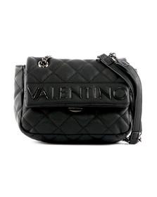 Valentino by Mario Womens Black Licia Small Satchel
