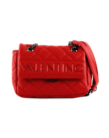 Valentino by Mario Womens Red Licia Small Satchel