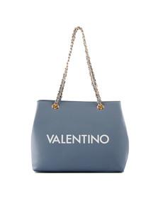 Valentino by Mario Womens Blue Masha Tote