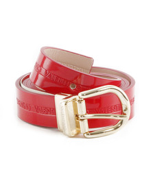 Valentino by Mario Womens Red Emma Belt