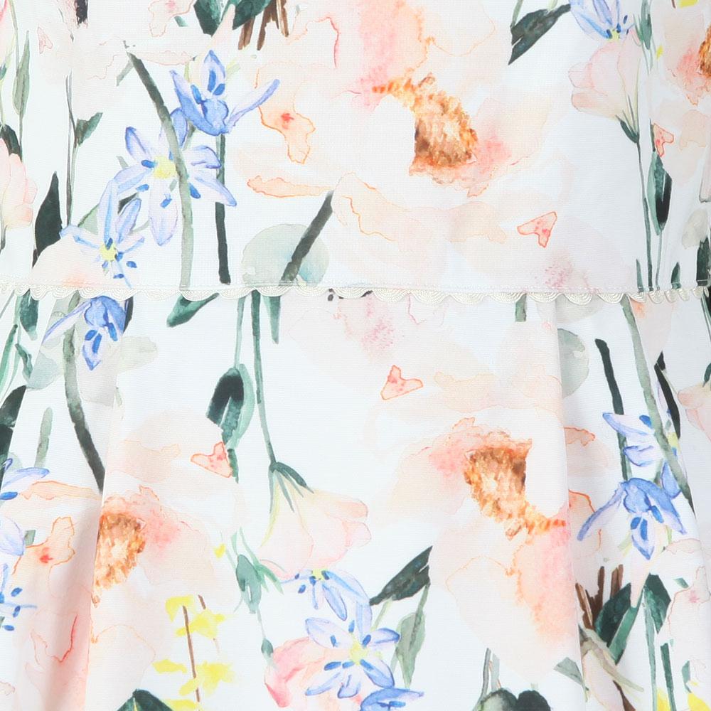 Charsy Elegance Scallop Ponte Dress main image