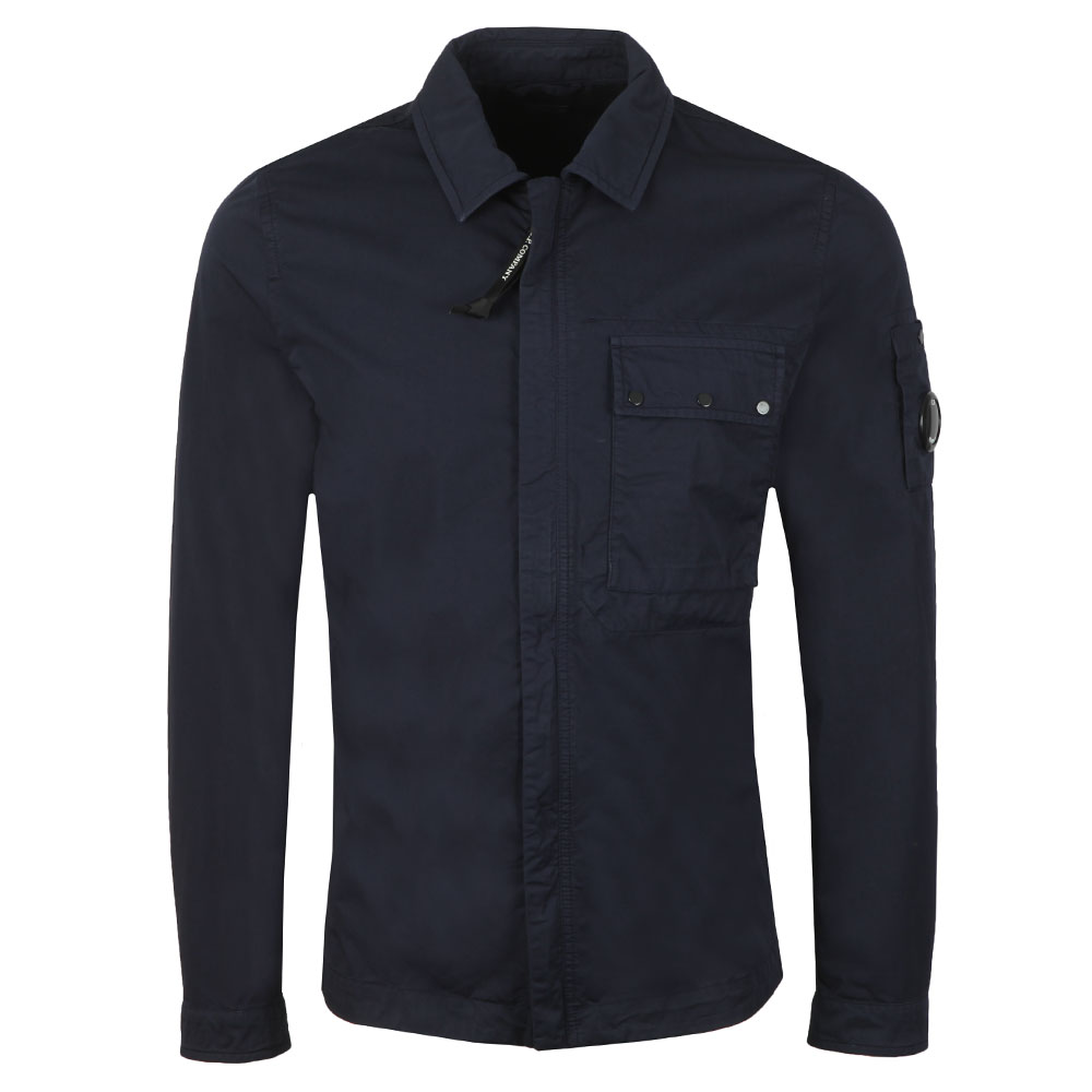 Chest Pocket Cotton Overshirt main image