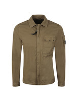 Chest Pocket Cotton Overshirt