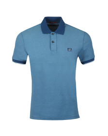 C.P. Company Mens Blue Tacting Polo Shirt