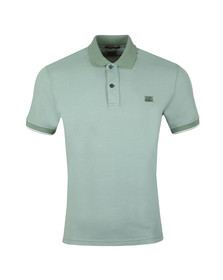 C.P. Company Mens Green Tacting Polo Shirt