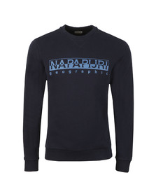 Napapijri Mens Blue Bevora C Sweat