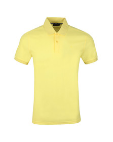 J.Lindeberg Mens Yellow Troy Clean Pique Polo Shirt