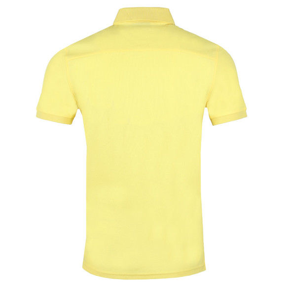 J.Lindeberg Mens Yellow Troy Clean Pique Polo Shirt main image