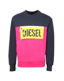 Diesel Mens Blue Baysea Sweatshirt