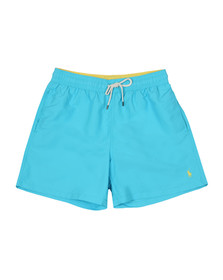 Polo Ralph Lauren Mens Blue Traveller Swim Short