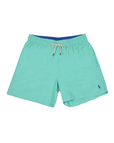 Polo Ralph Lauren Mens Green Traveller Swim Short