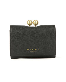 Ted Baker Womens Black Maciey TB Pave Mini Bobble Purse