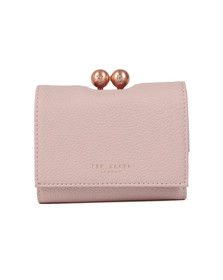 Ted Baker Womens Pink Maciey TB Pave Mini Bobble Purse