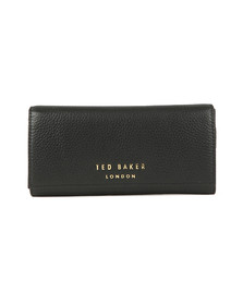 Ted Baker Womens Black Selma Statement Letters Matinee Purse